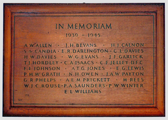WWII Roll of Honour